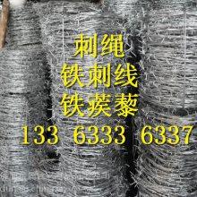 黑龙江刺线多钱一米 镀锌刺丝优盾 刺绳