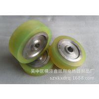 供应苏州优质聚氨酯包胶滚轮 PU包胶滚筒 橡胶滚筒