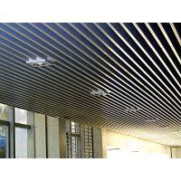 铝方通安装效果图 铝方通安装节点图