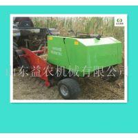 咨询益农制造玉米秸秆回收打捆机 苞米秸秆粉碎打捆机直销地址