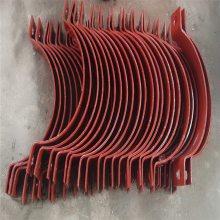 蒸汽管道专业水平管滑动支座DN40 乾胜牌保温滑动支座 碳钢水平管滑动支座图片