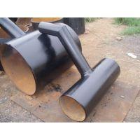 供应龙业DN900 PNa1.2 Q235B对焊跨越三通 碳钢