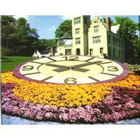 【贵州塔钟】贵州花坛钟 贵阳钟表厂 贵阳花坛钟价格 大型户外不锈钢座钟