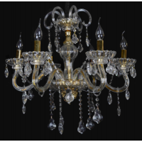 CVMA厂家直销 6002C-6A白炽灯欧式水晶吊灯 客厅 卧室 餐厅 创意水晶吊灯灯具