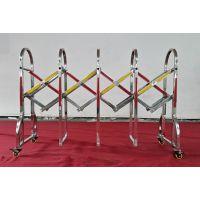 不锈钢伸缩围栏 伸缩护栏厂家 桂丰不锈钢伸缩护栏价格