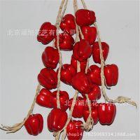 厂家仿真蔬菜水果串 葡萄串 农家乐装饰 仿真水果藤条 泡沫水果