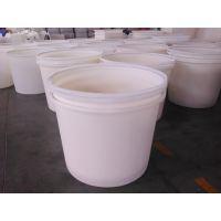 江苏耐酸碱塑料圆桶 防晒耐老化晒酱桶 食品加工塑料包装桶-滚塑加工