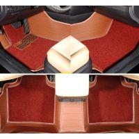 厂家直销 地毯丝皮革脚垫 专车专用大全包围皮革地毯丝汽车脚垫