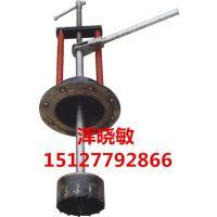 鑫通达DN100手动不停水钻孔机专业开孔各种材质管道