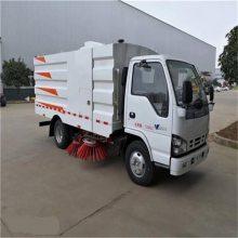 赣州市东风多利卡小型5吨扫路车,东风多利卡湿式扫路车厂家