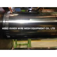 河北欧科专业生产纯圆高精密缝隙约翰逊网焊接设备500型