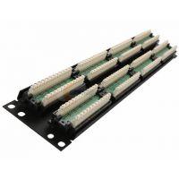 48口AMP超五类网络配线架 安普配线架AMP48口配线架