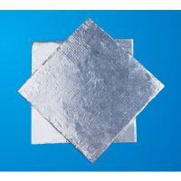 供应覆铝箔纤维布 保温隔热材料 厂家直销