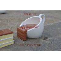创锦鸿供应玻璃钢咖啡杯蛋糕造型茶几休闲椅套装