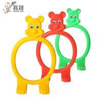 供应幼儿园儿童钻圈 儿童体能训练塑料钻洞跨栏批发零售