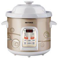 Tonze/天际DGD30-30CWD电炖锅陶瓷煮粥煲汤锅炖锅预约定时特价3L