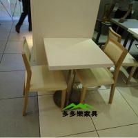 供应甜品店大理石餐桌 家用大理石餐桌 方形白色简约餐桌可定制