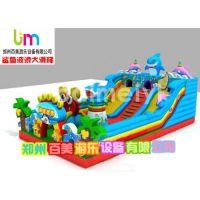 四川资阳新款儿童充气滑梯,充气城堡——儿童充气玩具