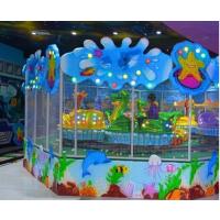 欢乐喷球车游乐设备 广场室内公园旋转小火车 先赚钱后付款