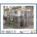 CE Fruit Processing Equipment , Tubular Uht Processing Equipment For Fruit Juice