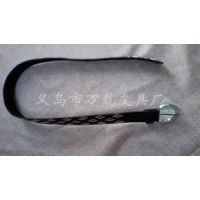 韩国绒流苏的环保性 棕色真皮带定制 蝴蝶结细腰带定制厂家