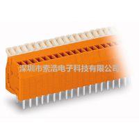 原装正品万可WAGO 234-504 PCB 接线端子条 2个焊针
