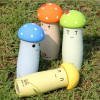 淘宝爆款 创意蘑菇保温杯可爱卡通磨砂儿童真空不锈钢情侣礼品