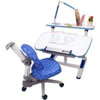 达宝利 儿童成长桌椅套装儿童学习桌椅写字画画桌椅可升降包邮