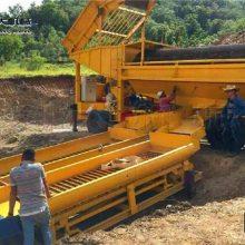 科大移动选矿设备 方便携带的小型沙金机械