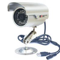 深圳工厂生产沁阳网络摄像机 插卡安防监控机 防水室外枪机摄像头