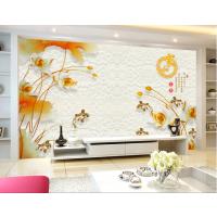 3D玉石背景墙制作设备 彩雕背景墙打印机厂家 隔断玻璃门印花机