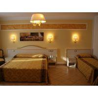 简约风格商务酒店客房床 中纤板床 低箱床 尺寸材质支持定做