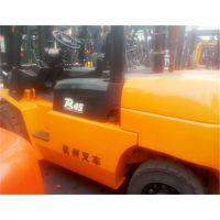 二手杭州小5吨叉车转让 4.5吨柴油叉车降价出售 二手叉车市场