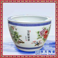供应陶瓷大缸 订制手绘装饰大缸 庆典装饰礼品陶瓷缸