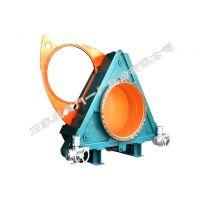 石家庄阀门一厂生产的环球牌干法除尘电动盲板阀 (YJF943X-2.5 DN400-2000)