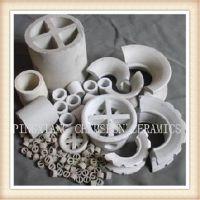 陶瓷散堆填料拉西环 陶瓷氧化铝拉西环填料 传质设备填料