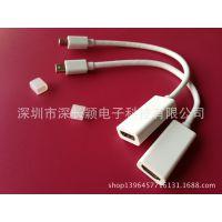 MiniDP to HDMI转换器minidp转hdmi 4D转接线支持4K*2K分辩率现货