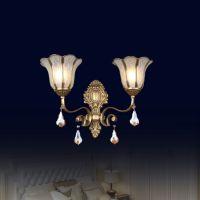 欧式全铜焊锡灯 双头壁灯 2013新款厂家直销 B0068双头壁灯