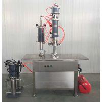 供应富达QGBG500型盖下灌装机(冷媒机)