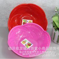301传盛塑料圆形水果盘 瓜子盘 2元日用品货源批发临沂义乌百货