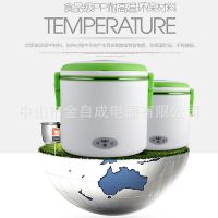 304电热饭盒可插电加热饭盒FH-803保温蒸煮迷你电饭煲便当盒