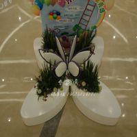 厂家专业定做各种玻璃钢休闲椅大型商场创意定做带花盆休闲椅