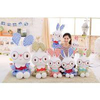 厂家直销公主兔公仔大眼睛兔子毛绒玩具玩偶儿童节生日礼物