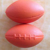 深圳发泡加工PU橄榄球,棒球 玩具球 PU握力发泡球
