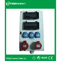 富森北京防水组合插座箱 24路舞台灯光LED大屏电源直通箱