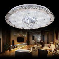 戴妮 客厅灯具大气圆形简约现代吊灯 LED吸顶灯 水晶灯水晶吸顶灯
