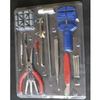 16件组合工具 钟表手表维修工具 修表套装工具