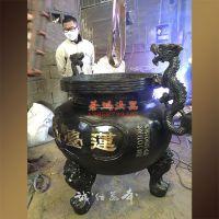 户外铜香炉定做厂家 温州铜香炉铸造厂