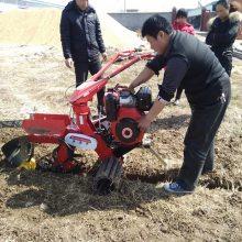 宏兴果园专用开沟机 新型农用开沟机 小型培土机视频