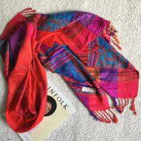竹纤维围巾,秋冬围巾,披肩,羊绒围巾,大红围巾,玫红围巾,卡其围巾,民族风围巾